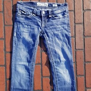 BKE Denim Stella Distressed Acid Wash (J1-96)